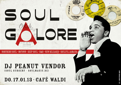17.01.2013: SOUL GALORE | Cafe Waldi, Leipzig